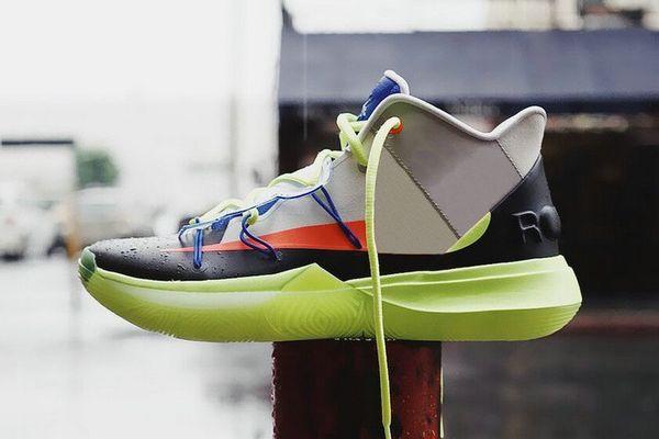 ROKIT 5 V Friends Area 72 Ray Gun UFO Duke Oreo BHM Kyrie Chaussures de basketball Concepts Hommes 5s PE Petite Montagne CNY Ikhet Zoom Turbo Baskets