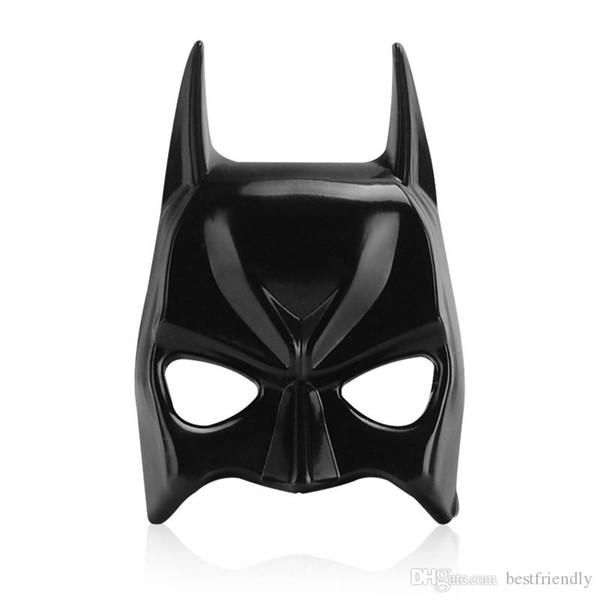 Nuevo diseño Máscara de Batman Cromado Metal 3D Capucha Etiqueta engomada del coche fresco Marcador lateral Etiquetas autoadhesivas decorativas Insignia del coche Bon para Audi / BMW