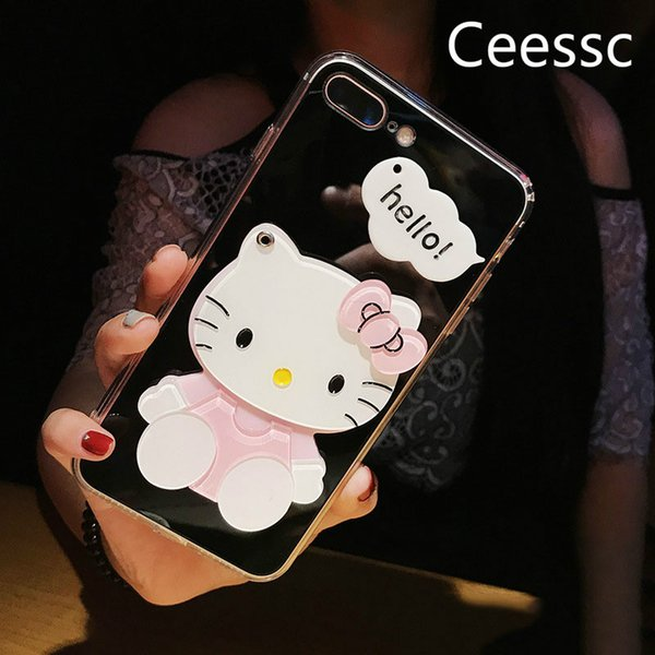 lovely carton phone case for iphone x 6/6s 6plus/6s plus 7/8 7plus/8plus wholesale fashion brand phone case protection 6 styles