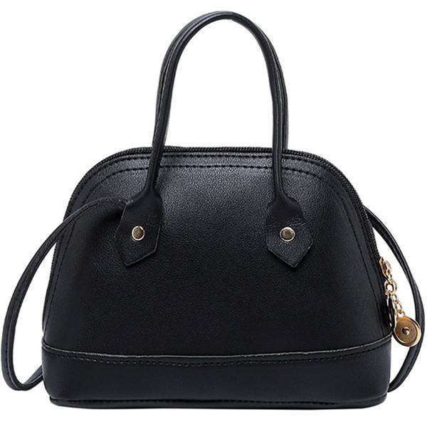 Корейская версия Цвет Shell Bag Ladies Mobile Изменение Parcel плеча Мобильный телефон сумка Черный