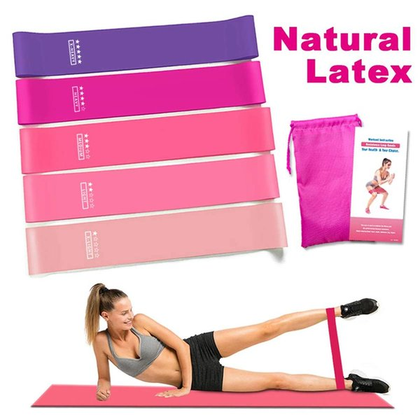 Resistance Bands Fitness Natural Latex Workout Bands Expander Elastic for Fitness Exercise Equipment Workout Crossfit Yoga