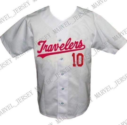 Baratas do costume Arkansas Travelers Retro Baseball Jersey 1960 com botões costurados branco Qualquer jogador Jersey Jersey beisebol da faculdade XS-5XL