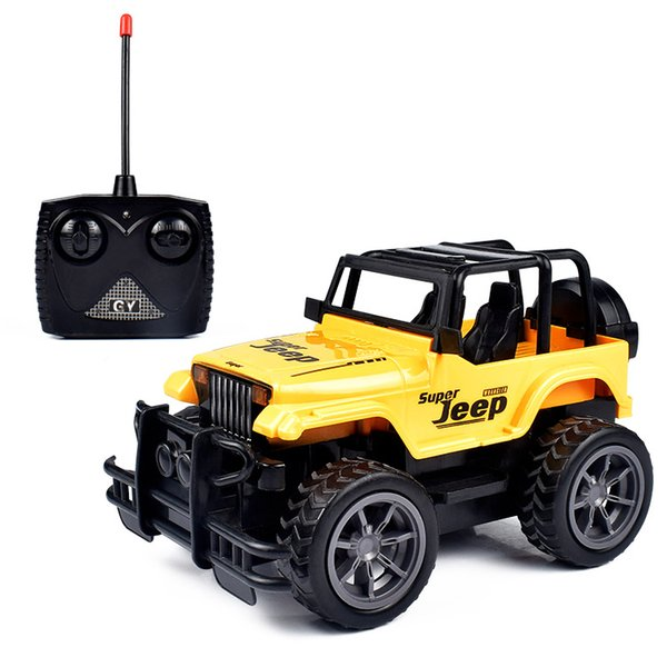 1:24 RC Araba Süper Büyük Uzaktan Kumanda Araba Yol Araç SUV Jeep Off-road Araç 1/16 Radyo Kontrol Araba Elektrikli Rc 4wd Oyuncak