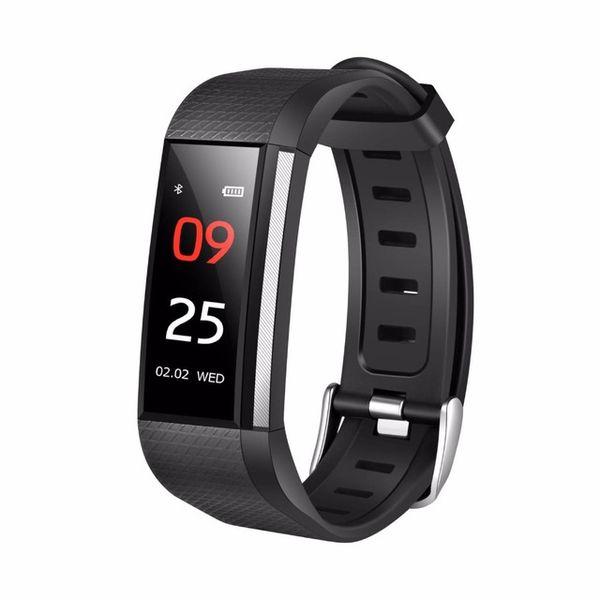 M200 Bracelet de traqueur de bracelet intelligent Montre intelligente SMS avec fréquence cardiaque Moniteur d'activité de compteur d'activité pour IOS dans la boîte de vente au détail