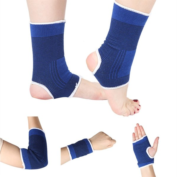 Unisex Sleeve Wrap Straps For Hand Palm Wrist Foot Proctector Elbow Knee Ankle Support Fitness Brace Sport Gym Running Bandage #381784
