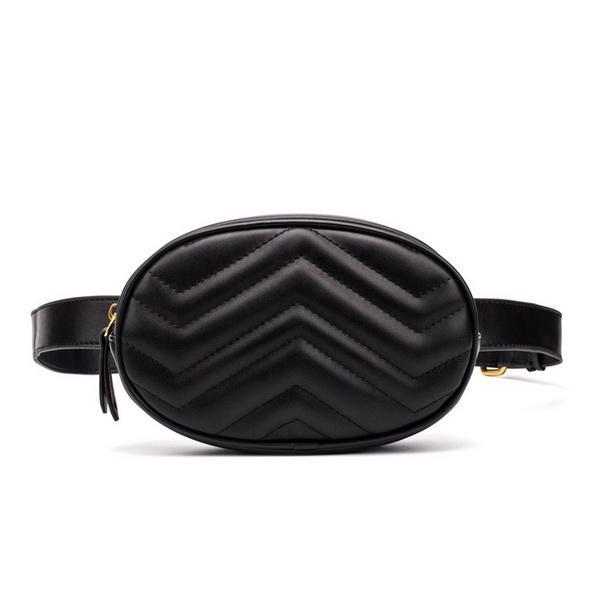 best selling Hot Sale TOP PU Waist Bags Women Fanny Pack Bags Bum Bag Belt Bag Women Money Phone Handy Waist Purse Solid Travel Bag