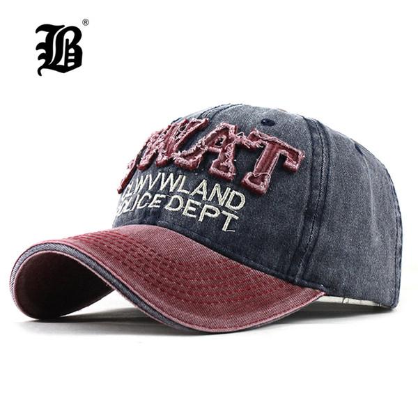 [FLB] Baseball Cap Women Hats For Men Trucker Brand Snapback Caps MaLe Vintage Embroidery Casquette Bone Black Dad Hat Caps F322