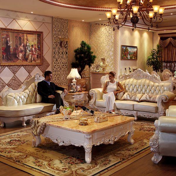2019 Luxury Leather Sofa Set For Living Room Furniture Muebles De Sala  Divano Letto Puff Asiento Casa Sillon Koltuk Takimi From Procarefoshan, ...