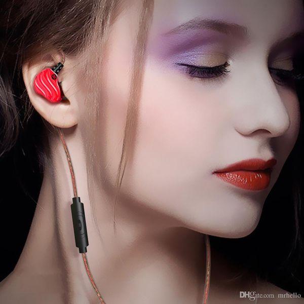 HOT Pop S200 Doppel Dynamische Fahrer 4 Lautsprecher HiFi Bass Subwoofer In Ohr Kopfhörer Stereo Sport Kopfhörer Monitor Ohrhörer Headset
