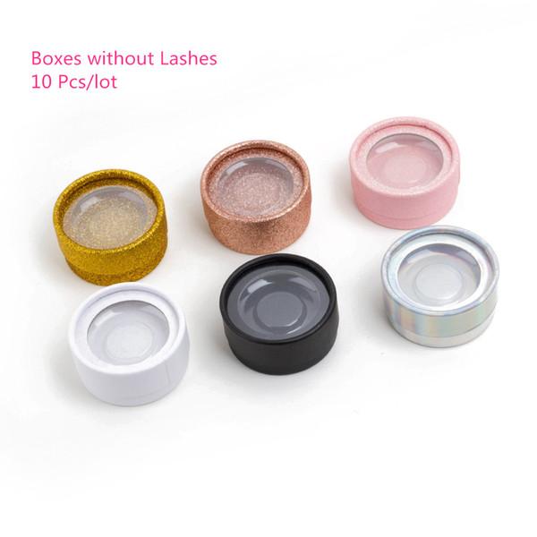 Boîte d'emballage de luxe pour les cils vierges faux 3d vison extension de cils Boîtes Faux Cils Vide Cas Livraison gratuite