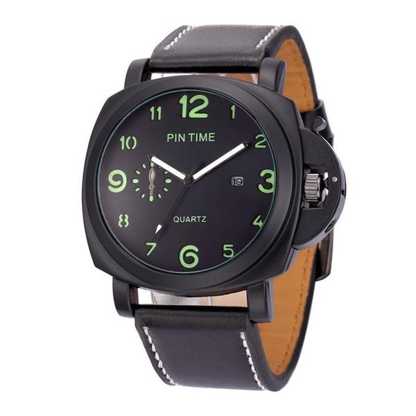 Топ мода повседневная марка мужские классические наручные часы календарь наручные часы люкс бизнес кварцевые наручные часы унисекс