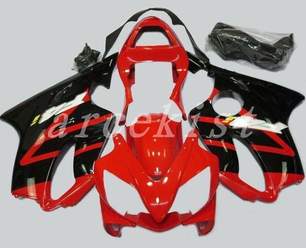 3Gifts New Injection ABS Fairing kits Fit for HONDA CBR 600 F4i fairings 2001 2002 2003 CBR600 FS F4i body 01 02 03 custom red black