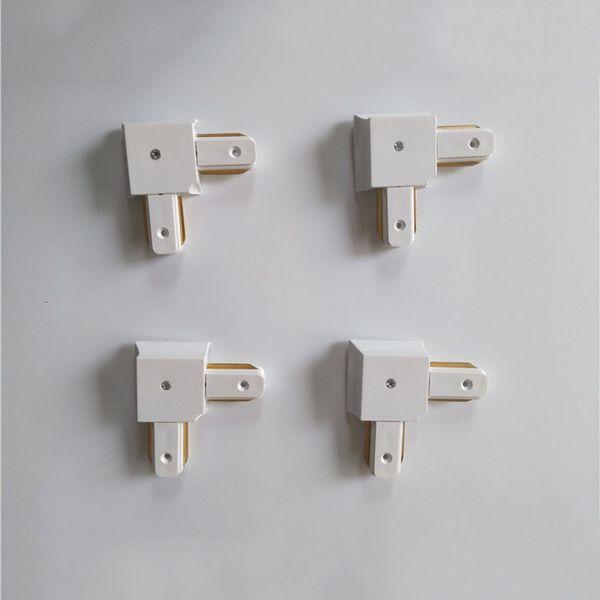 4 adet beyaz L konnektör