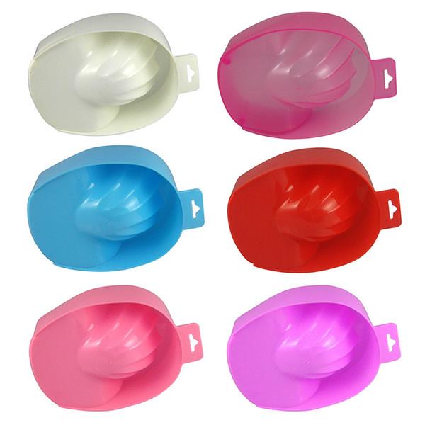 1pcs Nail Art Hand Wash Remover Soak Bowl DIY Salon Nail Spa Bath Treatment Nail Art Manicure Tools