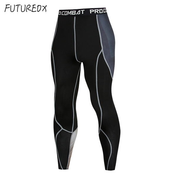 best selling Mens Compression Pants 3D Print Wolf Skull Skinny Leggings Cycling Tights Pants Fitness Joggers Elastic Bodybuilding Trousers