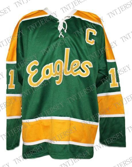 online store 4c2b7 02ced 2019 Custom Salt Lake Golden Eagles Retro Hockey Jersey Green Bradley  Personalized Stitch Any Number Any Name Mens Hockey Jersey XS 5XL From ...