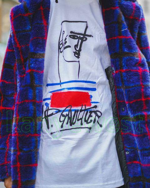 19SS Moda de Alta Calidad Logo de la Caja de Verano Camiseta Top Mujeres Sport Cotton Tee Mens Designer Skateboard letra imprimir camisetas Casual Tee