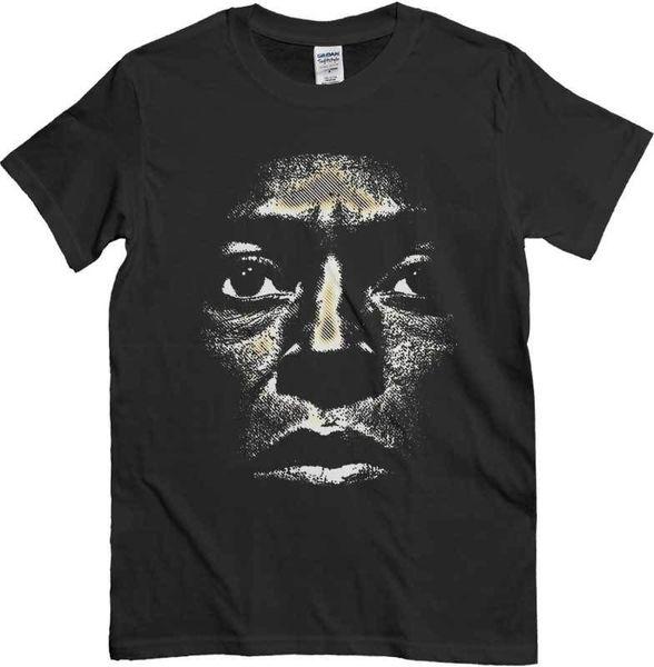 T Shirt T Shirt Maglia Maglietta Uomo Musica Jazz Wholesale Discount Viso Nera Nuova 100% Cotton Short Sleeve O Neck Tops Tee Shirts