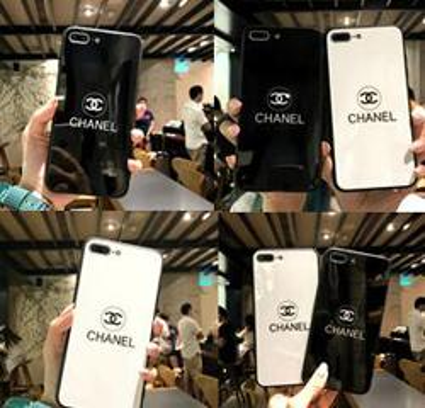 top popular Wholesale Luxury Women Designer Phone Cases Fashion Cover for IPhone X 7Plus 8P 7 8 6P 6SP 6 6S Letter Brand Hot Sale White Black 2019