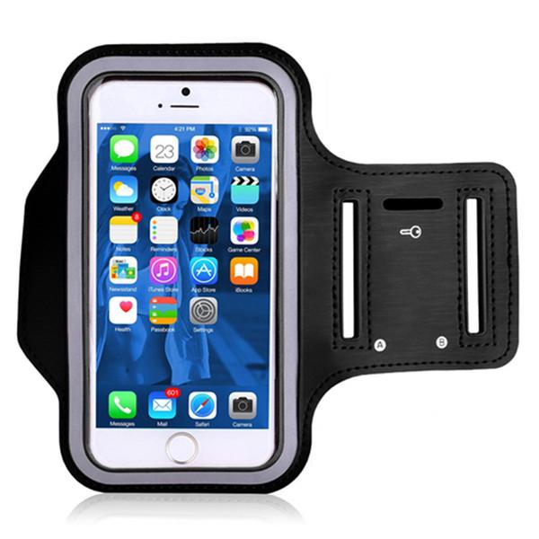Brazalete para el caso de DOOGEE Y7 Plus Impermeable Sport Running Arm Band Soporte para teléfono celular Caso para el teléfono de DOOGEE Y7 Plus 6.18 '' En la mano