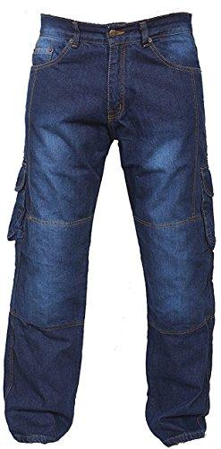 newfacelook denim motorcycle motorbike cargo jeans trousers with aramid protection lining