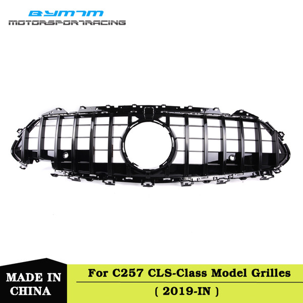 GT Style ABS Front Bumper Grille For BENZ C257 CLS Class CLS500