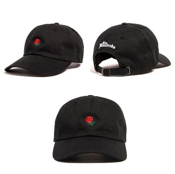 Boné de beisebol boné de beisebol dobrado preto The Hundreds casquette ao ar livre snapback chapéus de caça chapéus de sol das mulheres dos homens bonés de pico PPMY