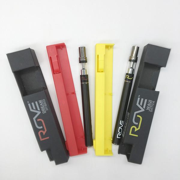 Descartável Vape Pen Rove Vape Kits 0,3 ml caixas vazias Sabor Oil Cartuchos Embalagem 280mAh da bateria E Cigarettes Kit Vape Carrinhos de arranque