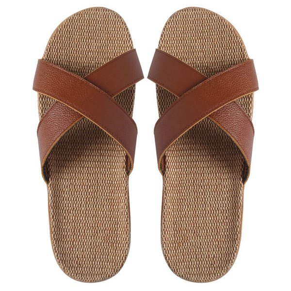 2019 Men Women designer slippers BENASSI summer huaraches slippers black white loafers fashion flats leather luxury slides