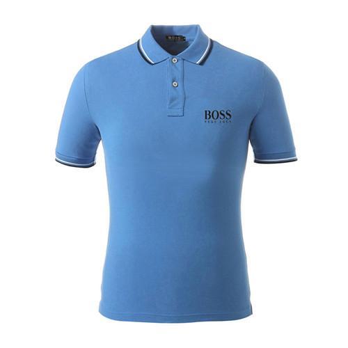 Новые мужские печатные рубашки поло 100% хлопок с коротким рукавом рубашки поло стенд воротник мужской рубашки поло M-3XL