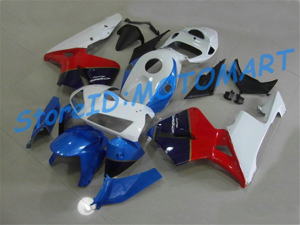 Классический красный черный литья под давлением Обтекатель для HONDA CBR600RR 05 06 CBR 600RR 2005 2006 CBR 600F5 Комплект обтекателей подарки HONF18