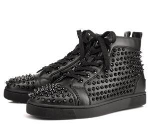 Designer Sneakers Red Bottom shoe Low Cut Studded Spikes Luxury Shoes For Men and Women Shoes Party Wedding crystal Leather Sneakers e12