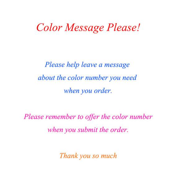 من فضلك لاحظ رقم اللون لنا