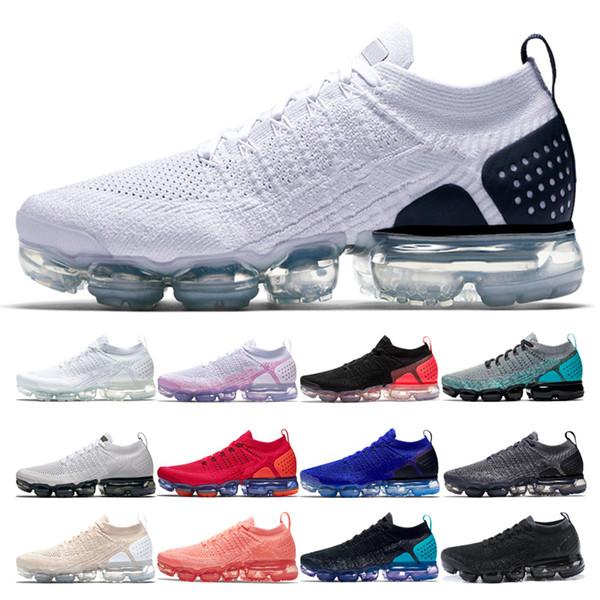 Discount 2.0 White Black Hommes Chaussures de course coureur bleu Light Cream laser orange Crimson Pulse Hot Punch plus Femmes respirantes Sneakers