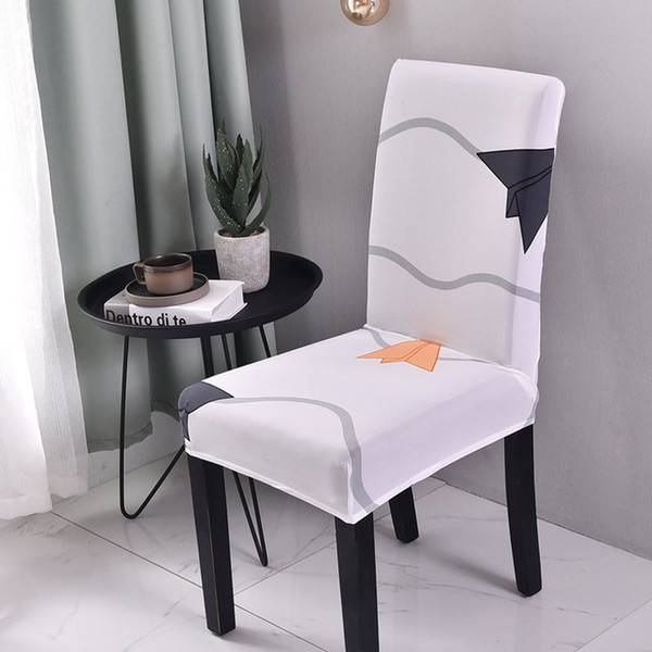 printed wedding chair covers dinning room chair cover spandex slipcovers stretch hotel office banquet chair seat cover