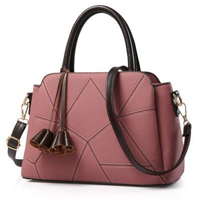 Women's bag autumn and winter trend ladies handbag Messenger bag simple shoulder bag day Europe and America package