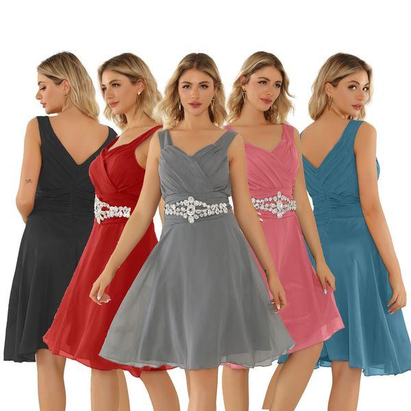 oversized women's brassiere luxury bridesmaid toast dress evening dress