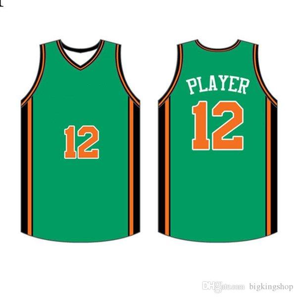 Mens 2020 Jersey Üst Logolar Basketbol Aşınma Yüksek kaliteli S-XXXL Ucuz toptan roidery Logolllluhu7ll77742222 dikişli
