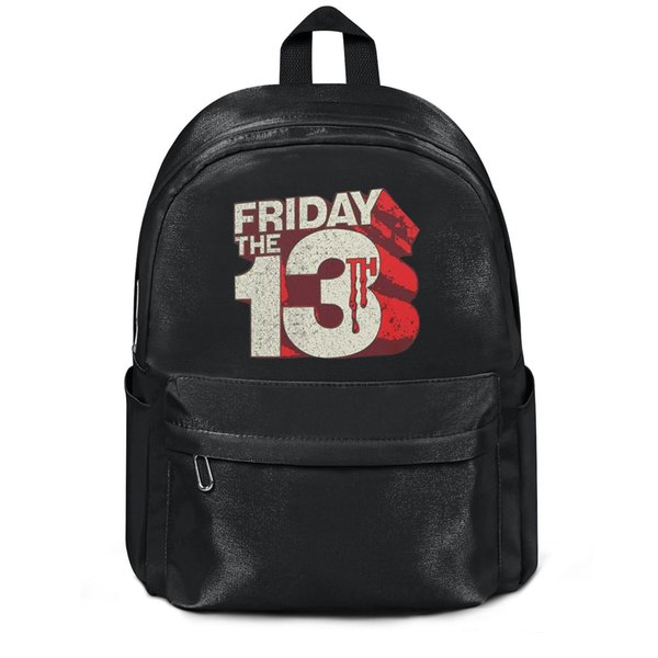 Friday the 13th kisspng jason voorhees Fashion sack Wool ,Shoulder backpack, design retro limited edition adjustable string Package, suit