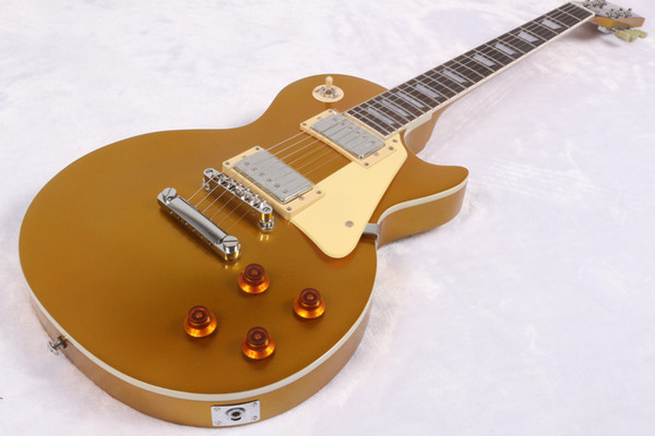 Custom Shop 1959 Aged Goldtop Relic Gold Top Electric Guitar TonePro Bridge, One Piece Body & Neck, Bone Nut, Humbucker Pickups
