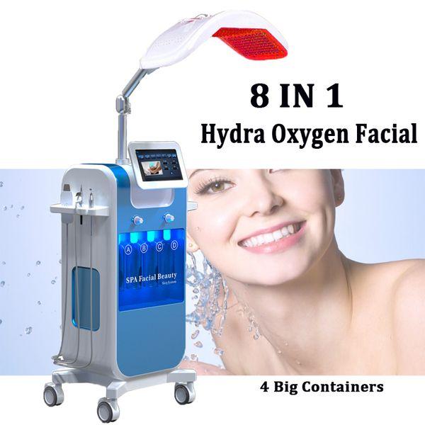 8 in 1 Oxygen Facial Jet Spray Machine hydro peeling diamond dermabrasion Oxygen Facial Skin Resurface machines