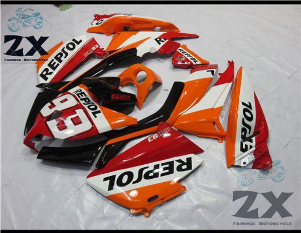93 Moto plastique ABS Carénage Kit Carrosserie Bolts pour Yamaha Tmax 530 2012-2014 bonne qualité tmax530 uv2014