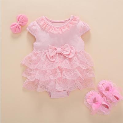 pink dress 3 pcs