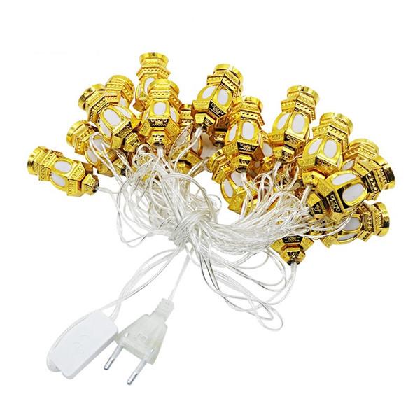Led Strings Lights Новый Год Украшения Рождество Китайский Фонарь Led Lights AC110V 220 В 3 М 20 Светодиодные Праздничный Праздник Дома 2 Цвет Оболочки