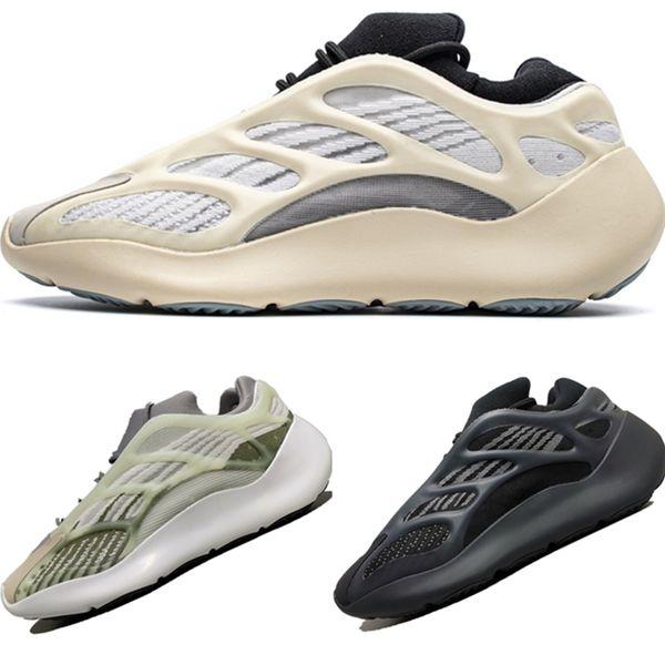 2020 Azael 700 V3 Mesh-Breath Noctilucent Laufschuhe Originals 700 V3 Azael EVA eingebaute Puffer Foam Jogger Schuhe