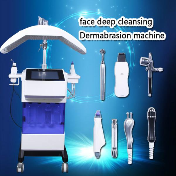 Hydro facial machine oxygen facial deep cleansing Hydro Dermabrasion Water Peeling diamond microdermabrasion machine Water Peeling