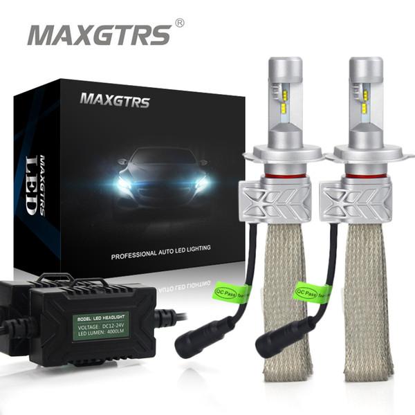 2x H4 9003 9004 9007 H13 HB2 Salut / Lo Kit de conversion de phare de voiture à LED DRL 8000lm Pour Lumileds Puce Lumileds Dual Beam Ampoules