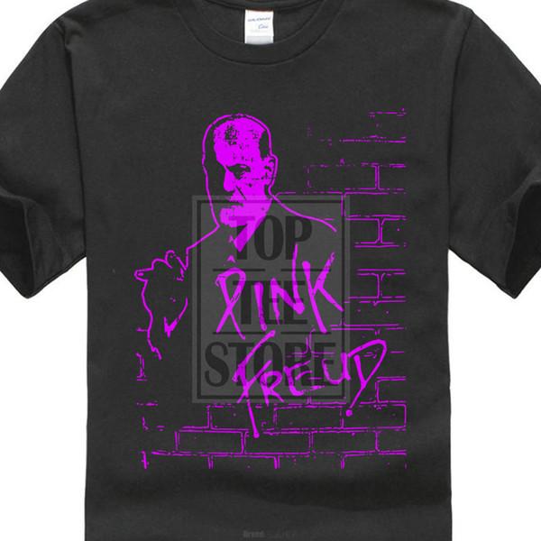 Meilleur T-shirts 100% Coton O Cou Hommes Rose Freud T-shirt À Manches Courtes Hommes Tee