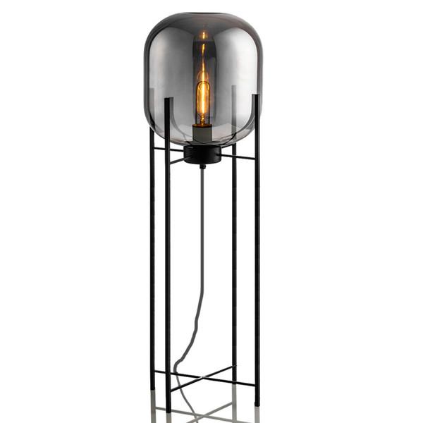 Modern ev deco aydınlatma armatürleri Nordic zemin ışıkları LED oturma odası ayakta armatürleri aydınlatma yatak odası zemin lambaları