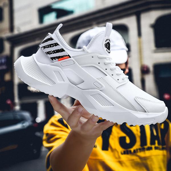 2019 новая летняя мода дышащая мужская обувь прилив сетки спортивная обувь повседн